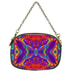 Butterfly Abstract Chain Purse (Two Sides)