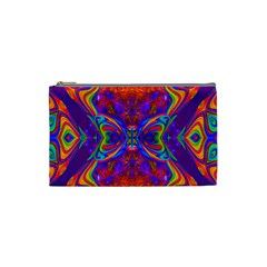 Butterfly Abstract Cosmetic Bag (Small)