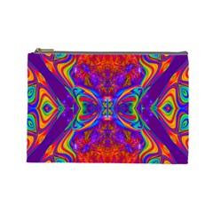 Butterfly Abstract Cosmetic Bag (large)