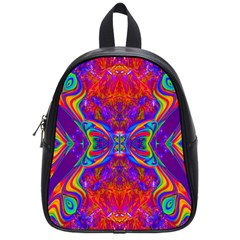 Butterfly Abstract School Bag (Small)