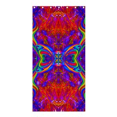 Butterfly Abstract Shower Curtain 36  X 72  (stall)