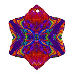 Butterfly Abstract Ornament (snowflake)