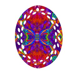 Butterfly Abstract Ornament (oval Filigree)