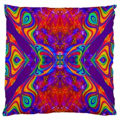 Butterfly Abstract Large Cushion Case (Two Sides)