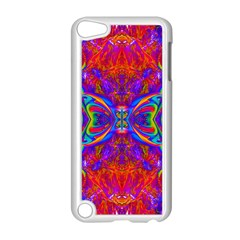 Butterfly Abstract Apple Ipod Touch 5 Case (white)