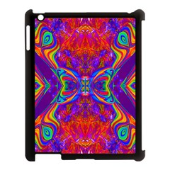 Butterfly Abstract Apple iPad 3/4 Case (Black)