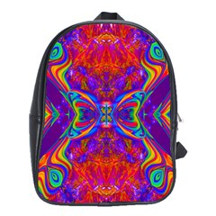 Butterfly Abstract School Bag (XL)