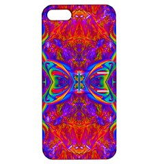 Butterfly Abstract Apple iPhone 5 Hardshell Case with Stand
