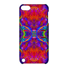 Butterfly Abstract Apple iPod Touch 5 Hardshell Case with Stand