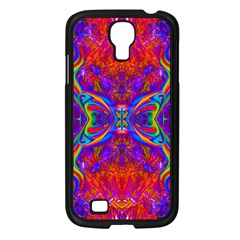 Butterfly Abstract Samsung Galaxy S4 I9500/ I9505 Case (Black)
