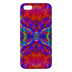 Butterfly Abstract iPhone 5S Premium Hardshell Case
