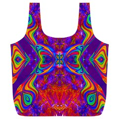 Butterfly Abstract Full Print Recycle Bag (XL)