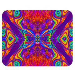 Butterfly Abstract Double Sided Flano Blanket (Medium)
