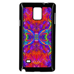 Butterfly Abstract Samsung Galaxy Note 4 Case (Black)