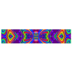 Butterfly Abstract Flano Scarf (Small)