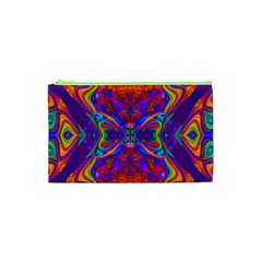Butterfly Abstract Cosmetic Bag (xs)