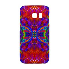 Butterfly Abstract Samsung Galaxy S6 Edge Hardshell Case