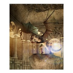 The Dragon Shower Curtain 60  x 72  (Medium)