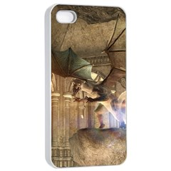 The Dragon Apple iPhone 4/4s Seamless Case (White)