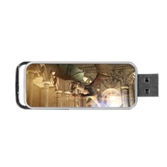 The Dragon Portable USB Flash (One Side)