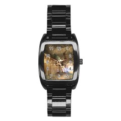 The Dragon Stainless Steel Barrel Watch