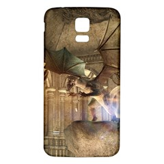 The Dragon Samsung Galaxy S5 Back Case (White)