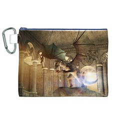 The Dragon Canvas Cosmetic Bag (XL)