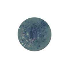 Vintage Floral In Blue Colors Golf Ball Marker (10 pack)