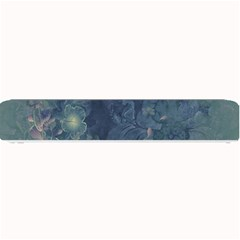 Vintage Floral In Blue Colors Small Bar Mats