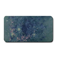 Vintage Floral In Blue Colors Medium Bar Mats
