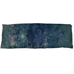 Vintage Floral In Blue Colors Body Pillow Cases Dakimakura (two Sides)