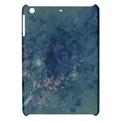 Vintage Floral In Blue Colors Apple iPad Mini Hardshell Case