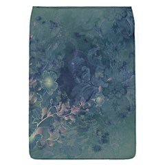 Vintage Floral In Blue Colors Flap Covers (S)