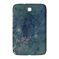 Vintage Floral In Blue Colors Samsung Galaxy Note 8.0 N5100 Hardshell Case