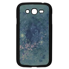 Vintage Floral In Blue Colors Samsung Galaxy Grand DUOS I9082 Case (Black)