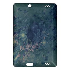 Vintage Floral In Blue Colors Kindle Fire Hd (2013) Hardshell Case