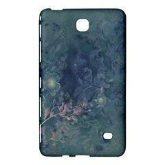 Vintage Floral In Blue Colors Samsung Galaxy Tab 4 (7 ) Hardshell Case
