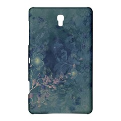 Vintage Floral In Blue Colors Samsung Galaxy Tab S (8.4 ) Hardshell Case
