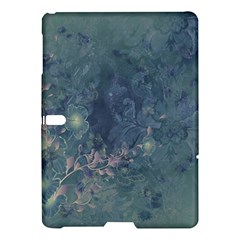 Vintage Floral In Blue Colors Samsung Galaxy Tab S (10.5 ) Hardshell Case