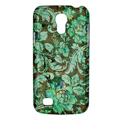 Beautiful Floral Pattern In Green Galaxy S4 Mini