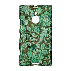 Beautiful Floral Pattern In Green Nokia Lumia 1520