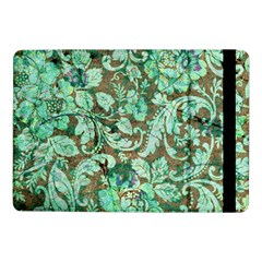 Beautiful Floral Pattern In Green Samsung Galaxy Tab Pro 10 1  Flip Case