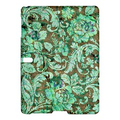 Beautiful Floral Pattern In Green Samsung Galaxy Tab S (10.5 ) Hardshell Case