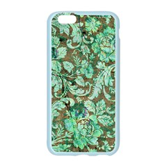 Beautiful Floral Pattern In Green Apple Seamless iPhone 6 Case (Color)