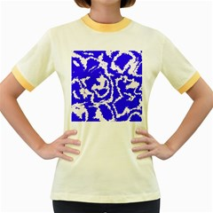 Migraine Blue Women s Fitted Ringer T Shirts