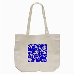 Migraine Blue Tote Bag (cream)