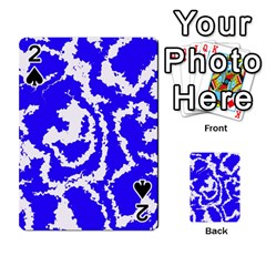 Migraine Blue Playing Cards 54 Designs