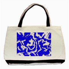 Migraine Blue Basic Tote Bag