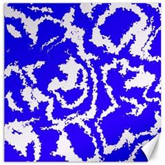 Migraine Blue Canvas 16  x 16