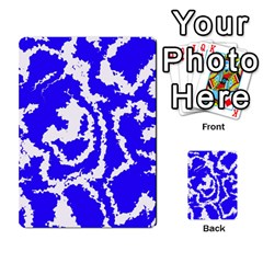 Migraine Blue Multi-purpose Cards (Rectangle)